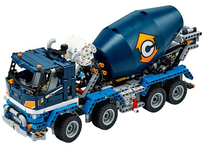 Auto-betoniera lego technic - 3