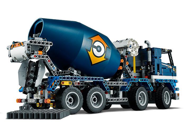 Auto-betoniera lego technic - 2