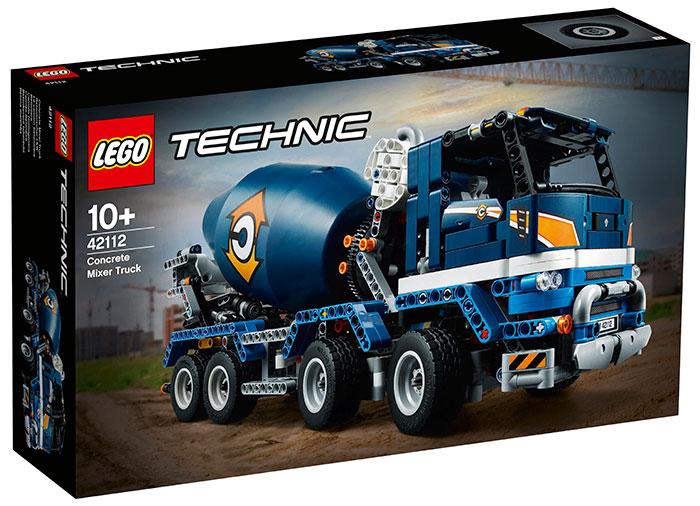 Auto-betoniera lego technic - 1