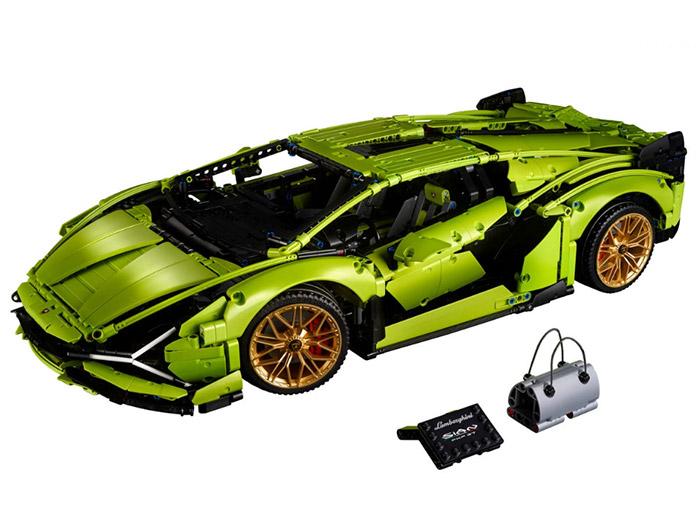 Lamborghini sian fkp 37 lego technic - 5