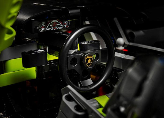 Lamborghini sian fkp 37 lego technic - 3