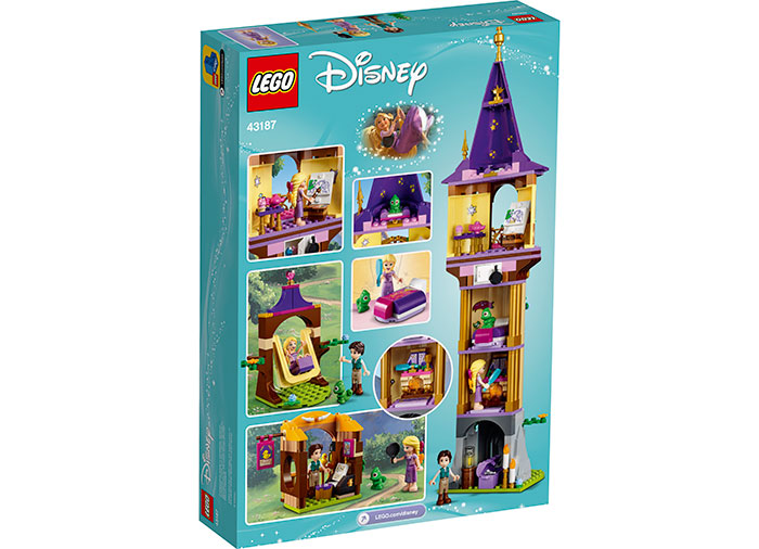 Turnul lui rapunzel lego disney princess - 2