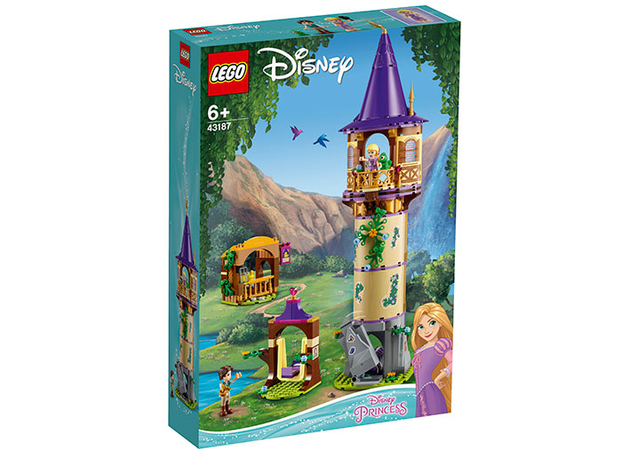 Turnul lui rapunzel lego disney princess