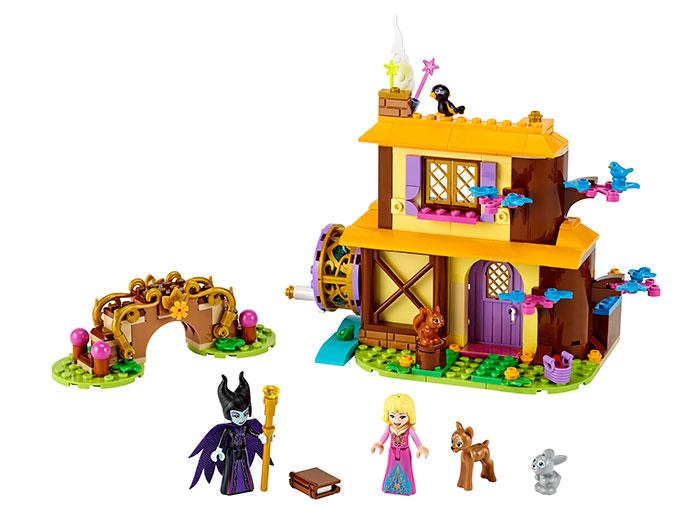 Casuta din padure a aurorei lego disney princess - 1