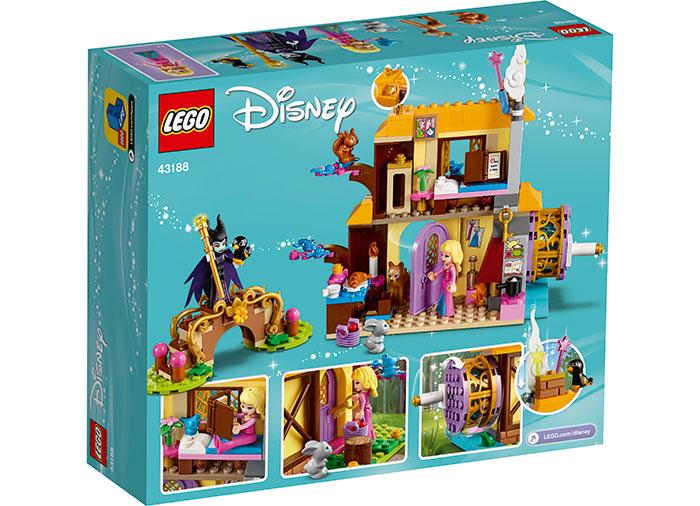 Casuta din padure a aurorei lego disney princess - 2