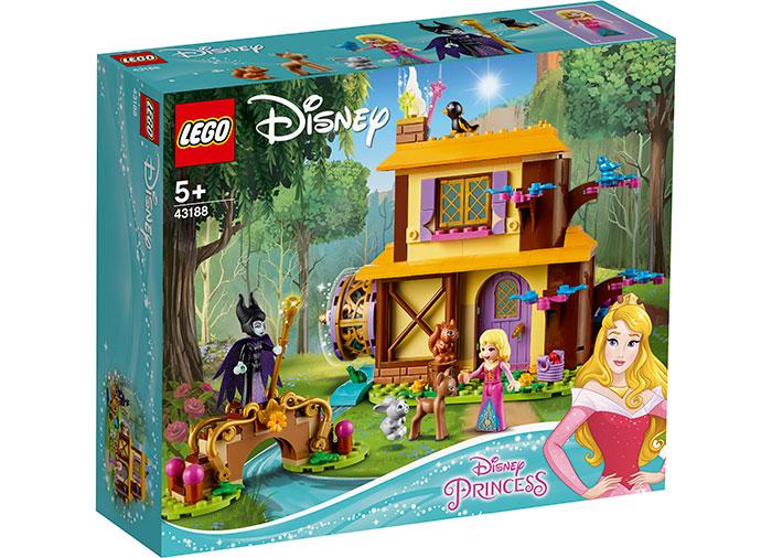 Casuta din padure a aurorei lego disney princess