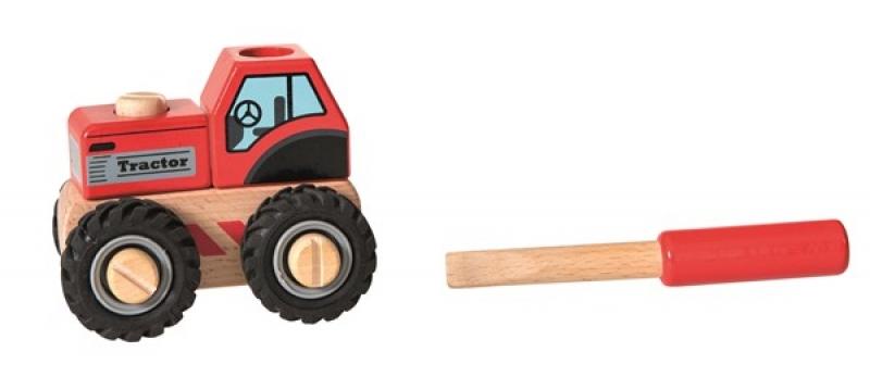 Tractor cu piese de insurubat egmont toys imagine