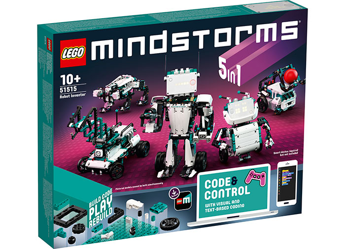 Creator de roboti lego mindstorms imagine