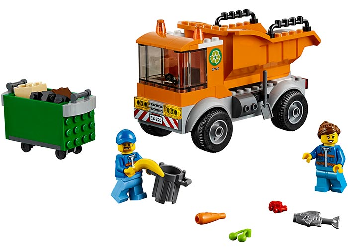 Camion pentru gunoi lego city - 2