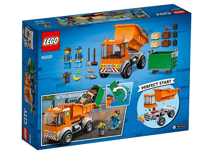 Camion pentru gunoi lego city - 1