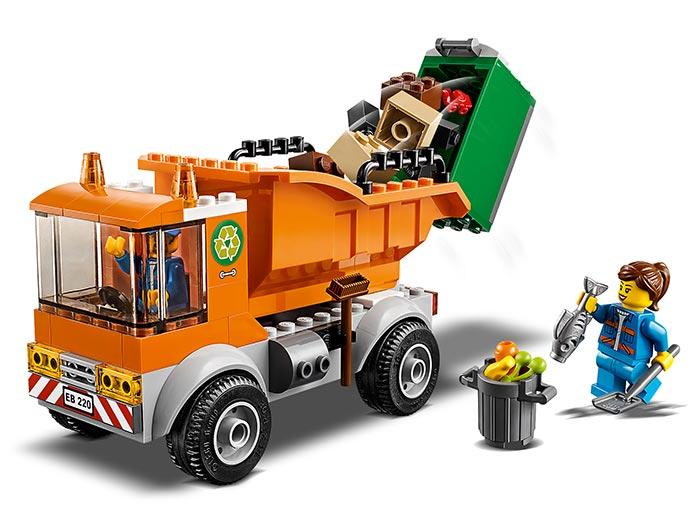Camion pentru gunoi lego city - 3