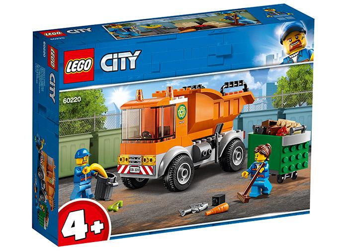 Camion pentru gunoi lego city