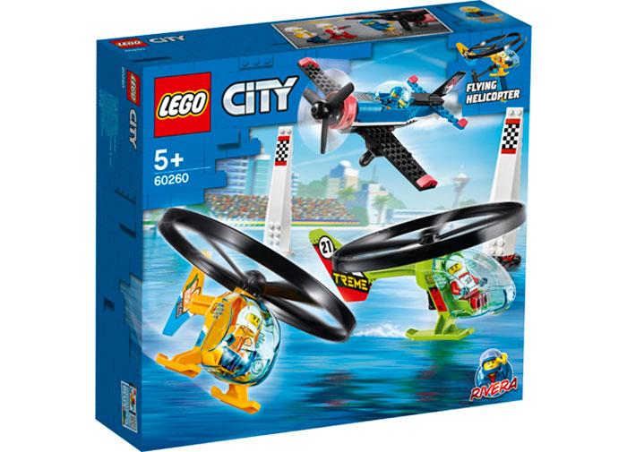 Cursa aeriana lego city