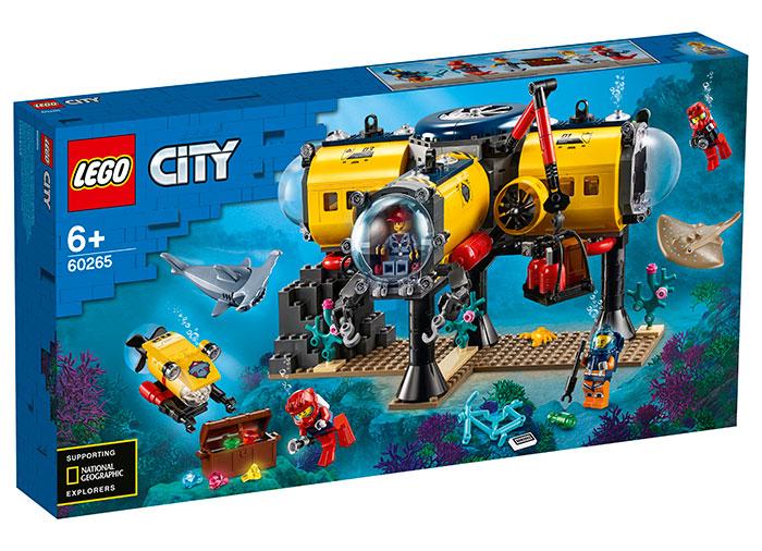 Baza de explorare a oceanului lego city