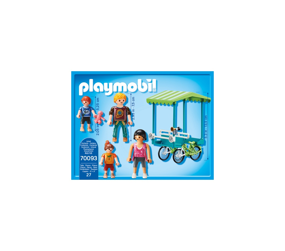 Bicicleta de familie playmobil family fun - 1