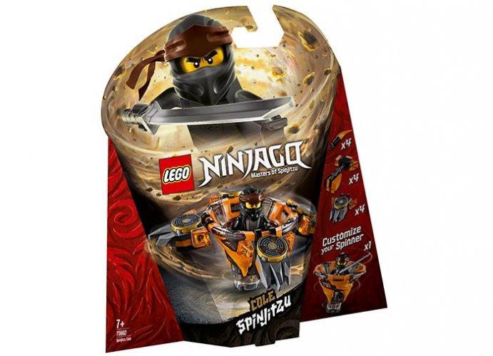 Spinjitzu cole lego ninjago imagine