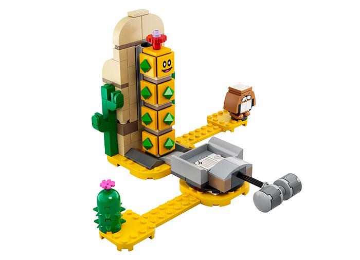 Set de extindere desert pokey lego super mario - 4