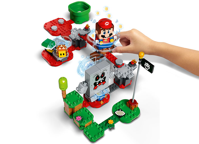Set de extindere whomp lego super mario - 3