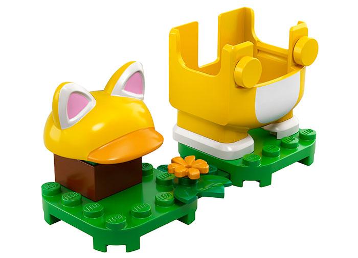 Costum de puteri pisica lego super mario - 4