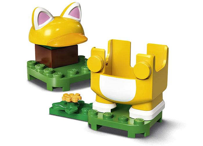 Costum de puteri pisica lego super mario - 2