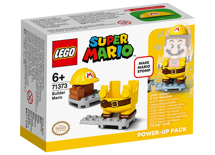 Costum de puteri constructor lego super mario