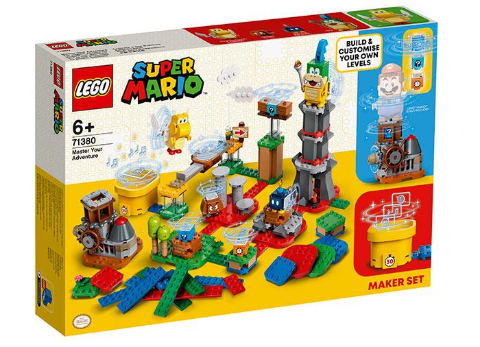 Construieste aventurile lego super mario