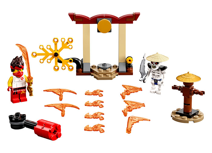 Batalie epica kai vs skulkin lego ninjago - 1