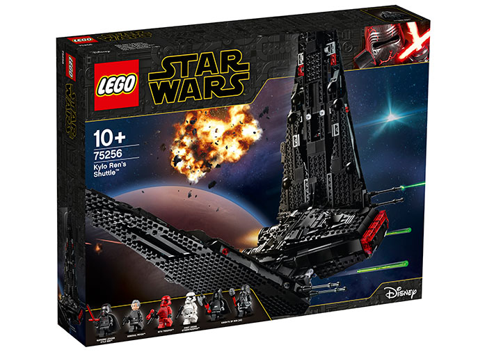 Kylo ren's shuttle lego star wars