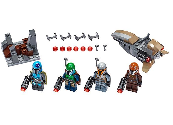 Pachet de lupta mandalorian lego star wars - 2