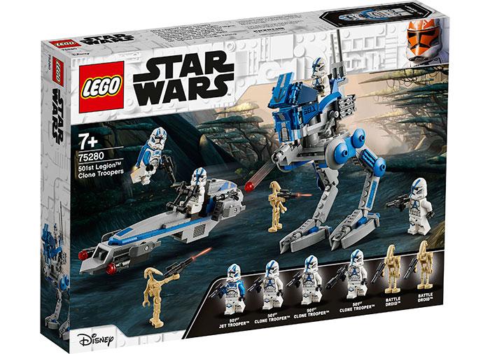 Clone troopers din legiunea 501lego star wars