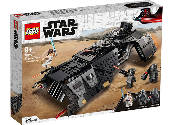 Nava de transport a cavalerilor lui ren lego star wars