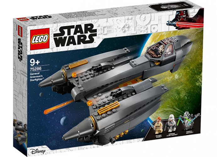 Starfighter al generalului grievous lego star wars