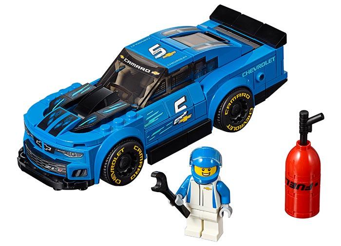Masina de curse chevrolet camaro zl1 lego speed champions - 3