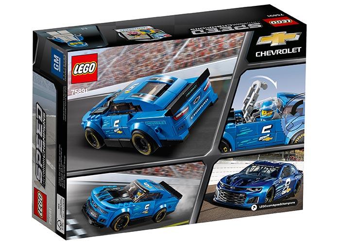 Masina de curse chevrolet camaro zl1 lego speed champions - 1