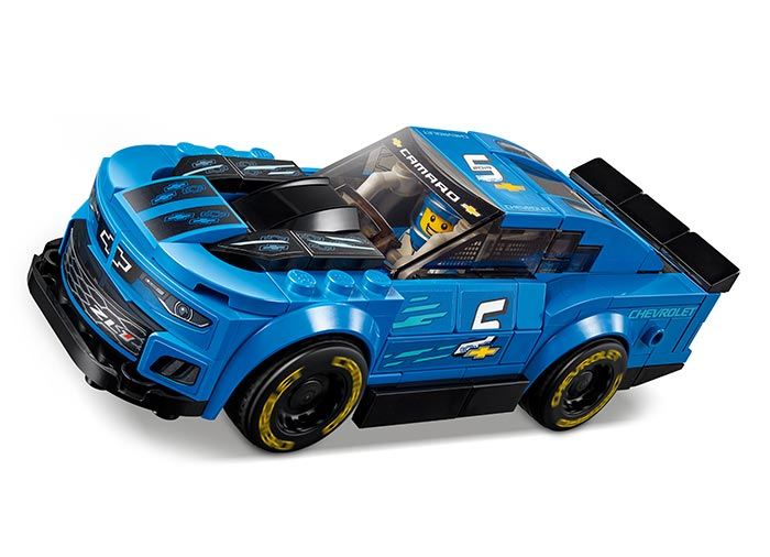 Masina de curse chevrolet camaro zl1 lego speed champions - 2