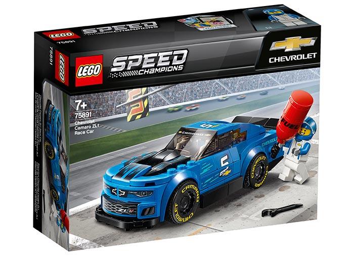 Masina de curse chevrolet camaro zl1 lego speed champions
