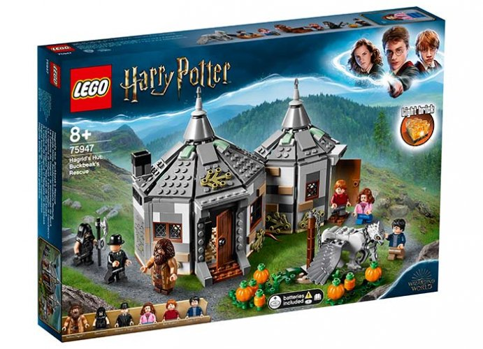 Coliba lui hagrid lego harry potter