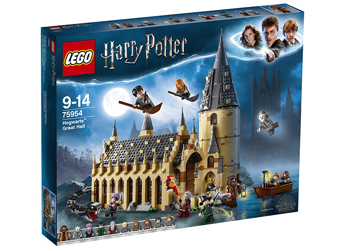 Sala mare hogwarts lego harry potter