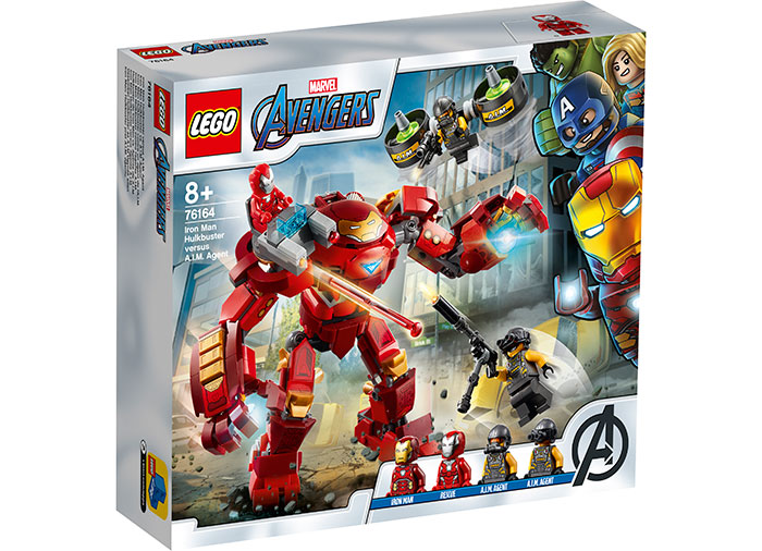 Iron man hulkbuster si aim agent lego marvel super heroes