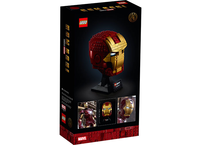 Casca iron man lego marvel super heroes - 2