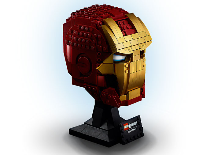 Casca iron man lego marvel super heroes - 3