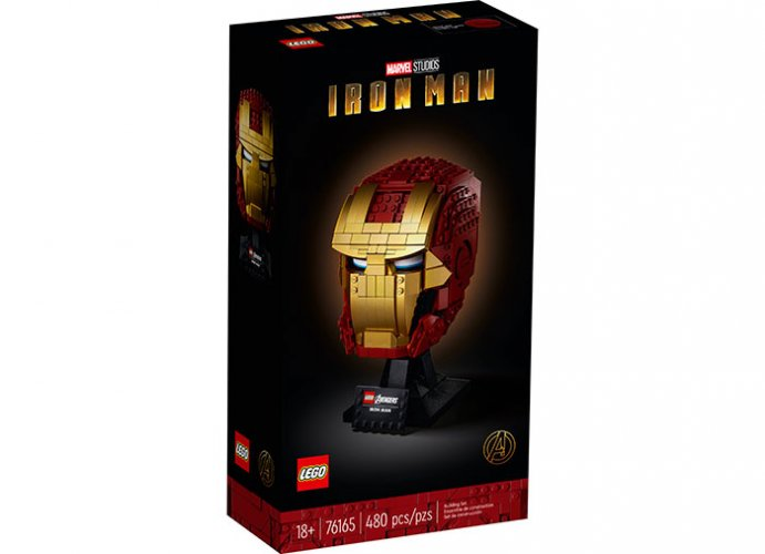 Casca iron man lego marvel super heroes - 0