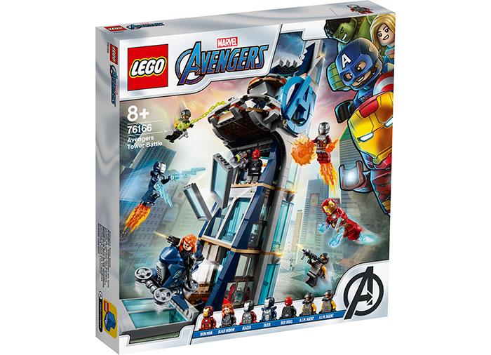 Lupta din turn a razbunatorilor lego marvel super heroes