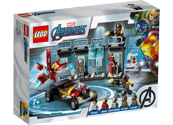 Arsenalul lui iron man lego marvel super heroes