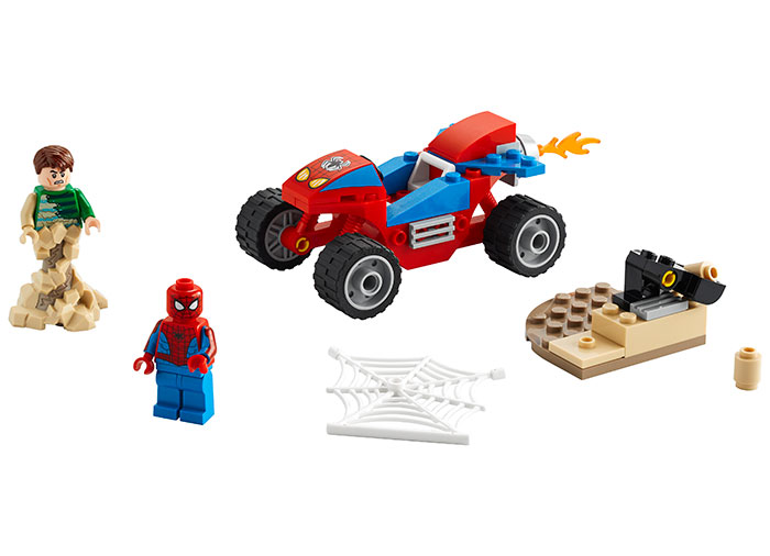 Spider man vs sandman lego marvel super heroes - 1
