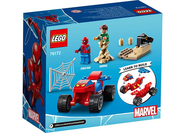 Spider man vs sandman lego marvel super heroes - 2