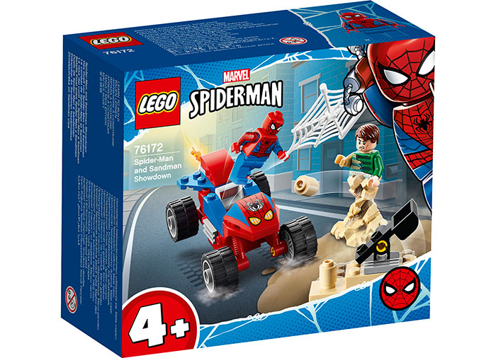 Spider man vs sandman lego marvel super heroes