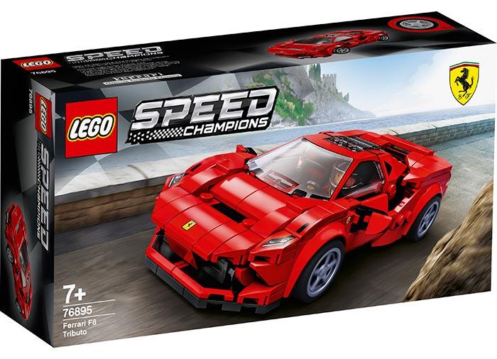 Ferarri f8 tributo lego speed champions