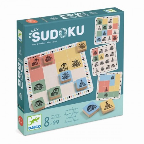 Joc de strategie crazy sudoku djeco