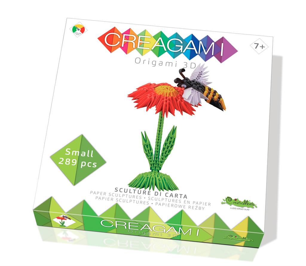 Creagami albina origami 3d creativamente imagine